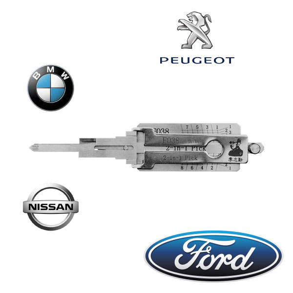 Tools used by our Auto Locksmiths in Nottingham