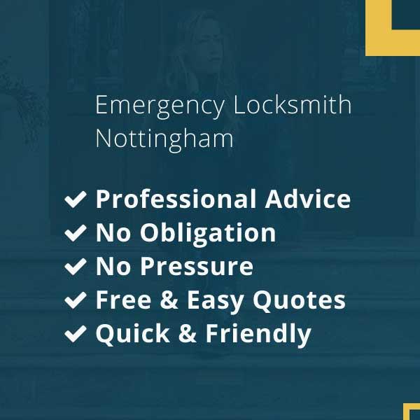 Emergency Locksmith Nottingham Available 24 Hours