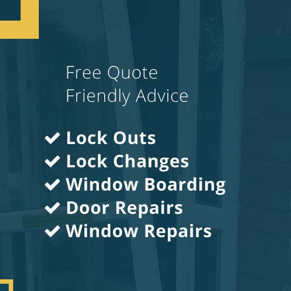 Locksmiths in Nottingham offering free quotes with professional friendly advice