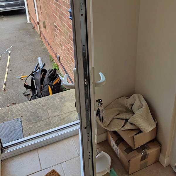 Our Locksmiths Repair uPVC Doors in Nottingham
